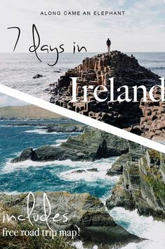 How to see the best of Ireland in a 7 day itinerary - The perfect Ireland road trip itinerary and travel tips for your first trip to Ireland! This Irelan - Europe Destinations, Europe Travel Tips, Amazing Destinations, Travel Guides, Budget Travel, Travel Uk, Travel Abroad, Road Trip Map, Road Trip Hacks