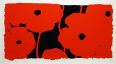 Eight Poppies | From a unique collection of prints and multiples at https://www.1stdibs.com/art/prints-works-on-paper/prints-works-on-paper/