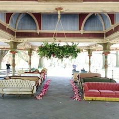 Wedding Ceremony Seating in Prospect Park Brooklyn | Wedding Decor | Patina Rentals | Flowers by Rebecca Shepherd
