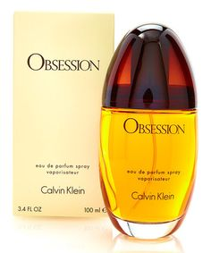 Loving this Obsession 3.4-Oz. Eau de Parfum - Women on #zulily! Enhance your natural allure with this fragrance that offers hints of ripe peach, blossoming jasmine and powdery vanilla for a light, flirtatious scent.  3.4 oz. Top notes: basil, bergamot, green notes, mandarin, peach, vanilla Middle notes: exotic spices, jasmine, coriander, orange blossom, rose, sandalwood, cedar Base notes: amber, oakmoss, musk, vanilla, , frankincense, civet