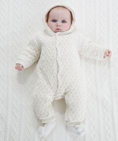 Mothercare Soft Knitted Pram Suit