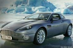 Aston Martin V12 Vanquish; 10 Baddest Bond Cars of All Time