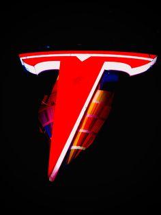Tesla logo 3D wall sign Logo Smart, Tesla Logo, Smart Auto, Logo Sign, Easy Wall, 3d Wall, Wall Signs, Cool Pictures, Logos