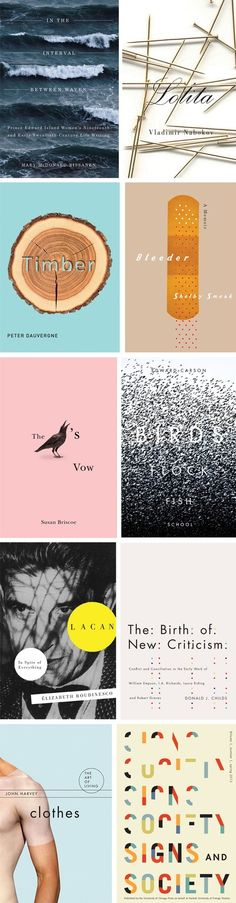 Book covers too good to judge!