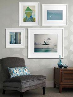 Постеры и фотографии в интерьере