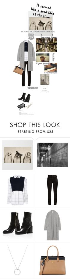 """"""":)"""" by opal2635 ❤ liked on Polyvore featuring Alice + Olivia, Yves Saint Laurent, Madeleine Thompson, Roberto Coin, Prada and Crate and Barrel"""