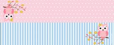 Lindo Búho Rosa: Etiquetas para Candy Bar para Imprimir Gratis. Baby Shower Souvenirs, Name Labels, Wedding Shower Gifts, Baby Wedding, Pink Owl, Rest, Cute Pink, Party Printables, To My Daughter