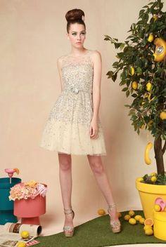 Alice + Olivia Alyssa Embellished Party Dress. I die!!!