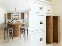 This Luxury Bespoke Kitchen in Hadley Wood is a stunning example of the traditional joinery techniques and workmanship by Humphrey Munson. Inframe Kitchen, Kitchen Storage, Kitchen Design, Kitchen Ideas, Humphrey Munson, Bespoke Kitchens, Small Places, Hadley, Joinery