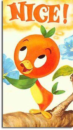 The Florida Orange Bird   memories from 70's era Walt Disney World   Progress USA   Disney nostalgia