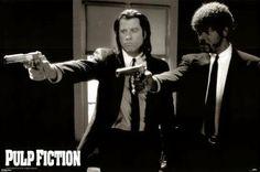 Pulp Fiction Poster Print  36x24 Movie Poster Print  36x24: http://www.amazon.com/Fiction-Poster-Print-36x24-Movie/dp/B000G6U5DU/?tag=livestcom-20