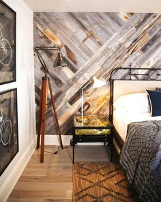 wallcovering wood bedroom cool accent wallcovering