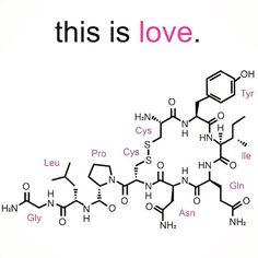 Oggi ti presento l'ormone dell'Amore Non è bellissimo?  #ossitocina #ormonedellamore #amore #thisislove #natasciapane