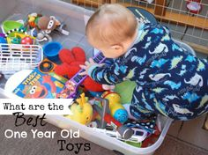 What are the best toys for one year old boys? ♥ CLICK FOR A LIST ♥ 2015 Top Toys ♥ #BestToys #OneYearOldBoys