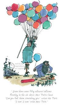 The Twits Roald Dahl/ Quentin Blake - Arthouse Gallery Roald Dahl The Twits, Matilda Roald Dahl, Mrs Twit, Chris Riddell, Quentin Blake Illustrations, Children's Book Illustration, Book Illustrations, Limited Edition Prints, Making Ideas