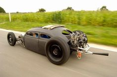 bathtub with a roof... and a giant engine!!! | See more about Rat Rods, Rats and Engine.#Timbeta #timbeta