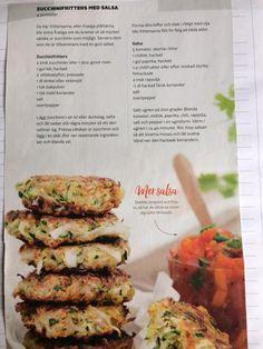 Zucchini fritters / squash-kaker