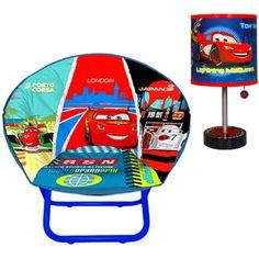 Disney Cars Saucer Chair Table Lamp Bundle Bedrooms