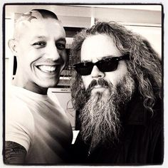 Rossi and Boone. Sons of anarchy juice & Bobby