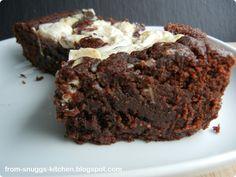 From-Snuggs-Kitchen ... mit Liebe handgemacht: Schokoladen-Frischkäse-Brownies