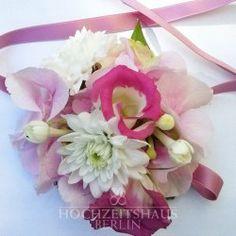 Blütenarmband Hot Pink