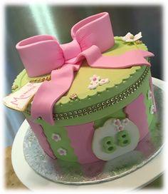 88th Birthday Gift box cake