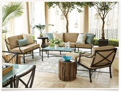 [get the look: suzanne kasler directoire outdoor]  I  ballarddesigns.com