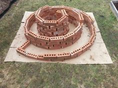 The Herb Spiral: A Permaculture Garden Design The Effective Pictures We Offer Y. The Herb Spiral: Herb Garden Design, Modern Garden Design, Vegetable Garden Design, Garden Art, Vegetable Gardening, Modern Design, Garden Sheds, Hydroponic Gardening, Container Gardening