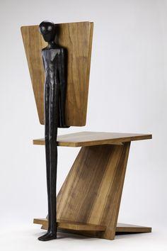 Alex Pinna, ATLAS, Sculpture-chair #art #sculpture #design