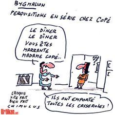 Bygmalion : perquisitions aux bureaux et au domicile de Jean-François Copé - Dessin du jour - Urtikan.net