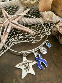 Periwinkle Ribbon Bracelet / Learn to Surf / Stomach Gastric Esophageal Cancer Survivor / IBS /Anorexia Bulimia / Eating disorders Awareness by RockYourCauseJewelry on Etsy - Periwinkle Ribbon - Acid Reflux (GERD) awareness, Eating disorders awareness, anorexia bulimia, Eosinophilic Disorders, Esophageal cancer awareness, Gastric Cancer survivor, Irritable Bowel Syndrome(IBS), Pulmonary hypertension awareness, Small Intestine Cancer and Stomach Cancer Awareness Survivor