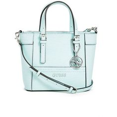 8962afbe91e1 Delaney Lizard-Embossed Mini Tote at Guess. Best Handbags ...