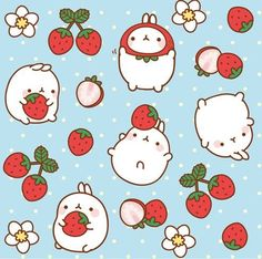 Molang loves to have fun and to blow kisses. Description from pinterest.com. I searched for this on bing.com/images