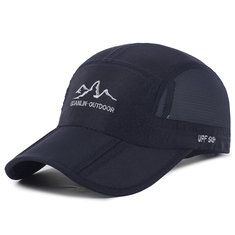 986db9597a9577 High-quality Mens Thin Breathable Quick Dry Baseball Cap Sunshade Leisure Outdoor  Mesh Hat -