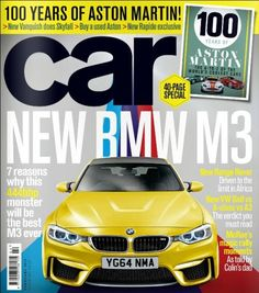 I do like the way the font in this cover is the same as the car color. It gives it a more clean feel that I could use in my text or captions of photos.