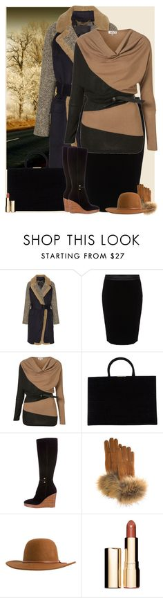 """Bez naslova #3162"" by gita016 ❤ liked on Polyvore featuring J.Crew, Armani Collezioni, WalG, Tomasini, Christian Louboutin, FRR, RHYTHM and Clarins"