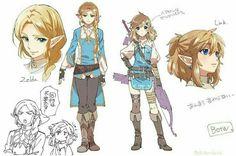 Porte clé The legend of Zelda breath of the wild.