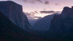 Purple Sunrise in Yosemite Valley CA[OC][5985x3367]