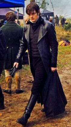 Sam Riley as Darcy - Pride & Prejudice & Zombies