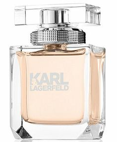 Karl Lagerfeld Eau de Parfum, 2.8 oz - A Macy's Exclusive - A new iconic and refined signature scent from Karl Lagerfeld that embodies the essence of style. Combining modernity and sensuality, the fragrance inspires a feeling of strength, self-confidence and desire. The Karl Lagerfeld Eau de Parfum is a vibrant green floral fragrance with fresh rose, electrified by lime and magnolia, and softened by velvety peach, sensual musk, and amber woods.