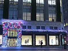 Saks Fifth Avenue, 611 Fifth Avenue, New York City.