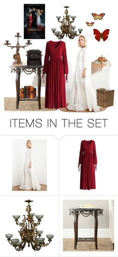 """Crimson Peak"" by ellajchappell ❤ liked on Polyvore featuring art and CrimsonPeak"