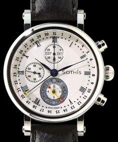"Chronograph SPIRIT OF MOON ""IKARUS"""