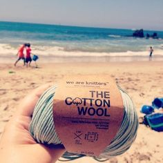 The Cotton in Aquamarine | We Are Knitters