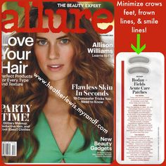 Allure magazine features Rodan and Fields ACUTE Care!!! This products isn't even available yet to the public until January!!! Can't wait? Sign up as a consultant and enroll with the Big Business Launch kit or the RFx kit and ACUTE Care is included!!! Visit my website to join as a consultant at http://www.heatherlewis.myrandf.biz or message me to get on the list for ACUTE Care in January!
