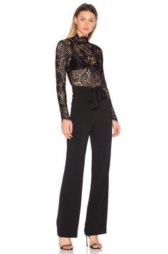 Misha Collection x REVOLVE Allegra Jumpsuit in Black