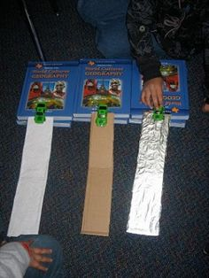 Race car physics experiment | Science Fair Projects from Pinterest - Parenting.com