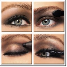 Smokey eyes for light color eyes