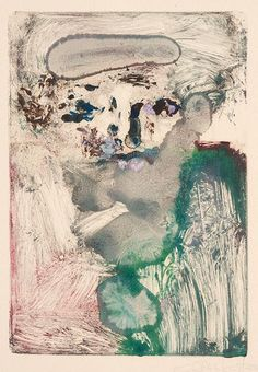Saul Leiter Monotype,Untitled Figure