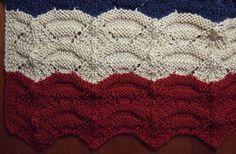 Free Knitting Pattern - Afghans & Blankets: Carnival Afghan
